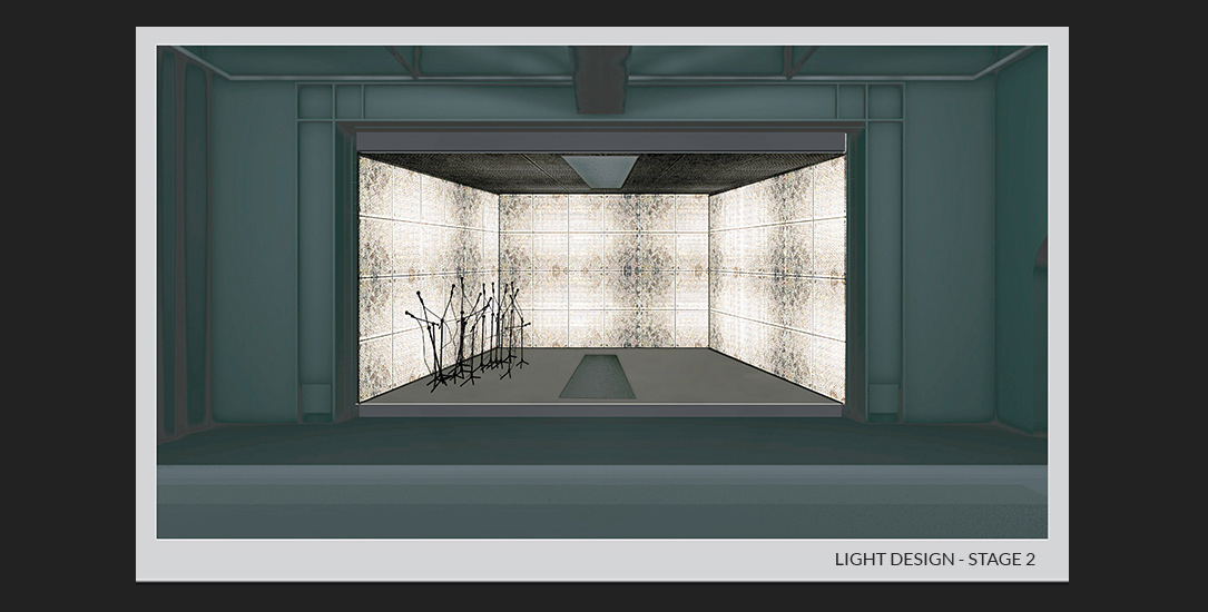 Agata Skwarczyńska Ashes Collecting Inside the Sun theatre design 1