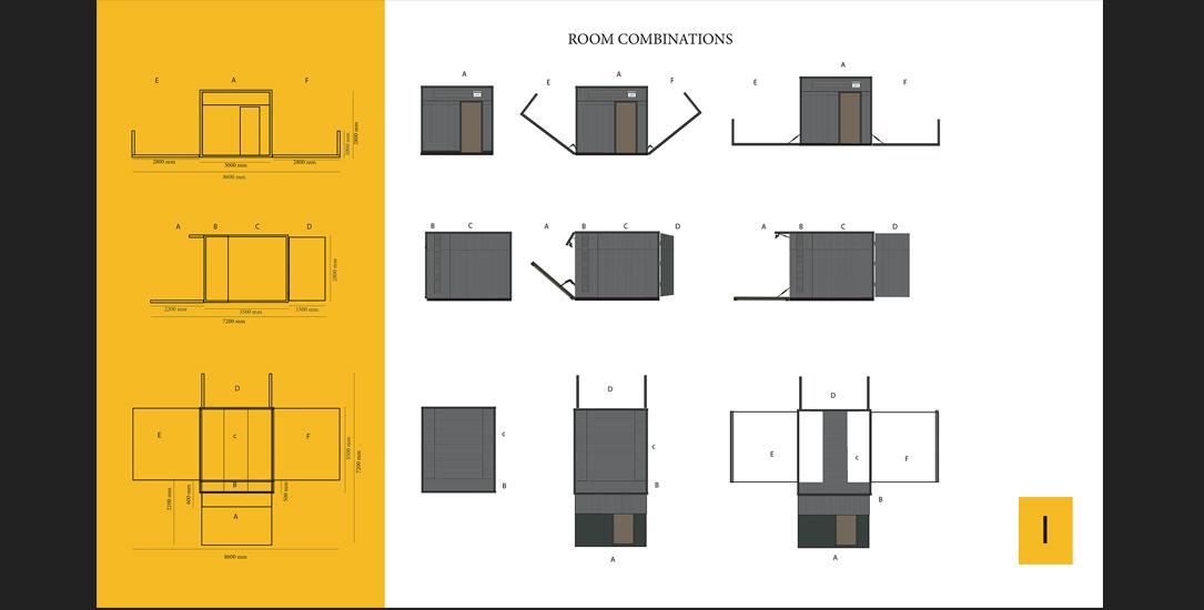 Agata Skwarczyńska Intelligent Room design 3
