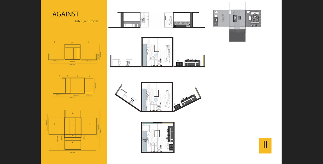 Agata Skwarczyńska Intelligent Room design 2