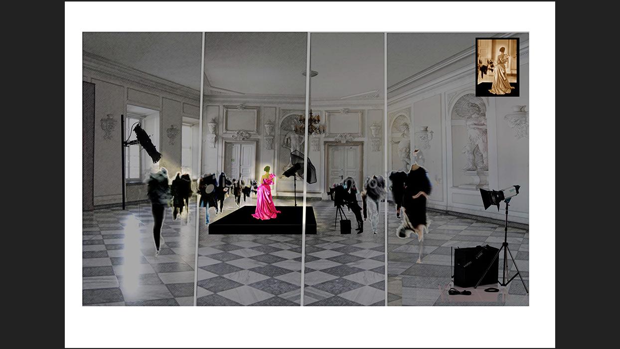 Agata Skwarczyńska The Doll performance set design 2
