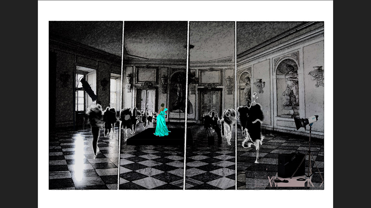Agata Skwarczyńska The Doll performance set design 1